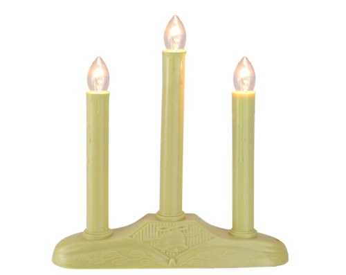 3 Light Electric Window Candle