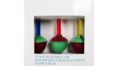 Bubble Light Replacement Bulbs 3 Pack
