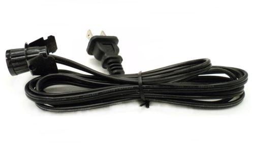 C7 Black Blow Mold Light Cord