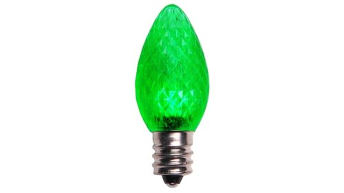 C7 LED Retrofit Green Replacement Bulb