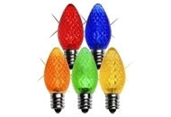 C7 LED Twinkle Bulbs