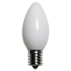 C9 Opaque White Replacement Bulb