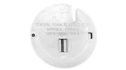 General Foam Blow Mold Back Plate