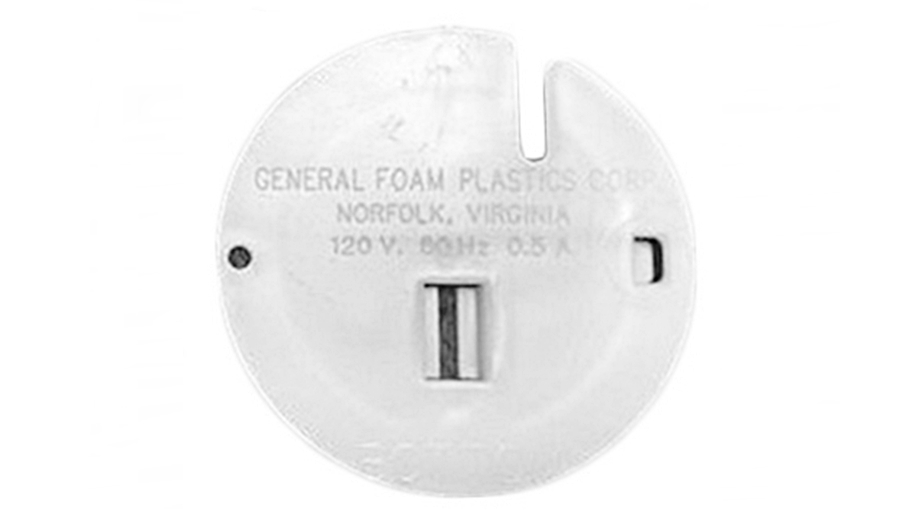 General Foam Blow Mold Snowman Replacement Button Part single button