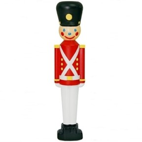 General Foam Toy Soldier Christmas Blow Mold