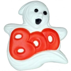 Grand Venture Boo Ghost Halloween Blow Mold