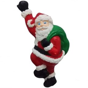 Grand Venture Climbing Santa Christmas Blow Mold