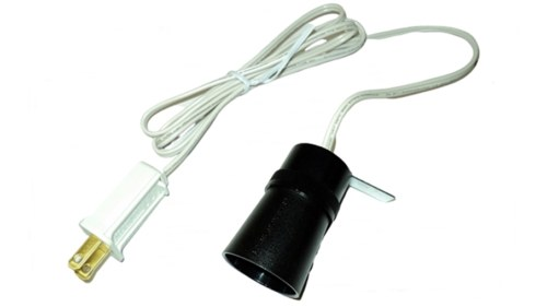 Grand Venture Blow Mold Light Cord with Edison Socket Top View