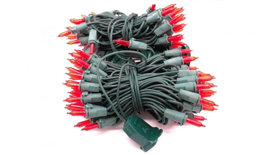 M5 Led Red Mini Lights 120 Count