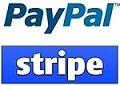 Pay Pal Express Stripe Logos