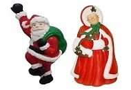 Santa Claus-Mrs Claus