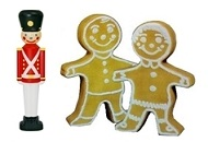 Toy Soldiers-Gingerbread Figures