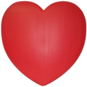 Union Products Red Valentine's Heart Blow Mold