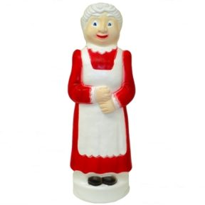 Union Products Mrs Claus Christmas Blow Mold