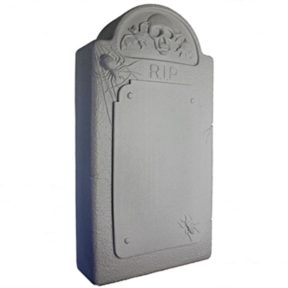 Union Products Light up Gravestone Halloween Blow Mold