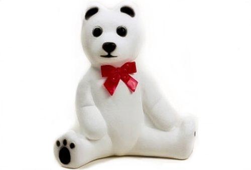 Union Prodcuts White Polar Bear Christmas Blow Mold